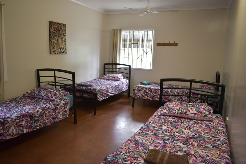 4 Bed Dormitory, Mixed (no bunks)